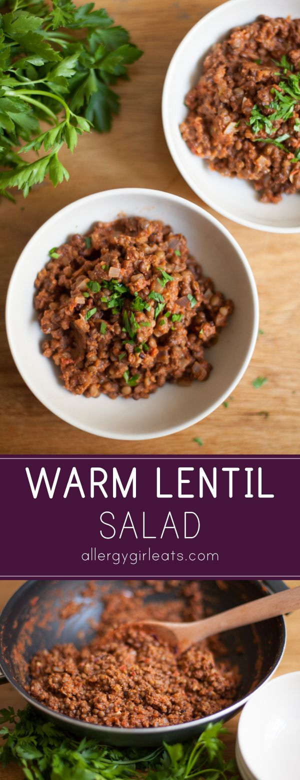 Warm Lentil Salad | Recipe | Kale power salad, Dirt recipe and ...
