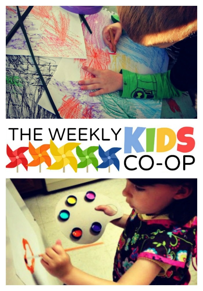 18+ Preschool Art Ideas from The Weekly Kids Co-Op with links to SEVERAL other activities. Very good site!