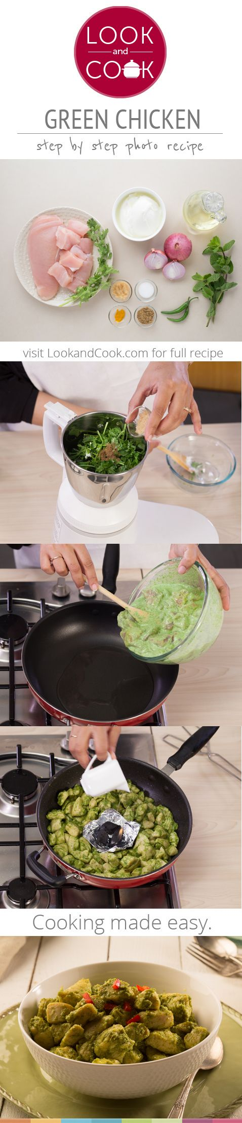 Green Chicken Recipe (#LC14171):