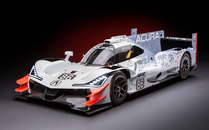 Descargar fondos de pantalla Acura ARX-05 Ppp, 4k, 2018 coches, coches de carreras, supercars, IMSA, el Acura