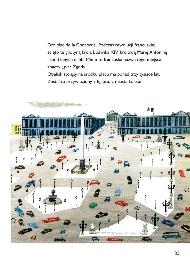 """""""Oto jest Paryż"""" MIROSLAV SASEK Wydawnictwo Dwie Siostry cena 29,26 zł http://www.traffic-club.pl/p/oto-jest-paryz-tw/638766"""