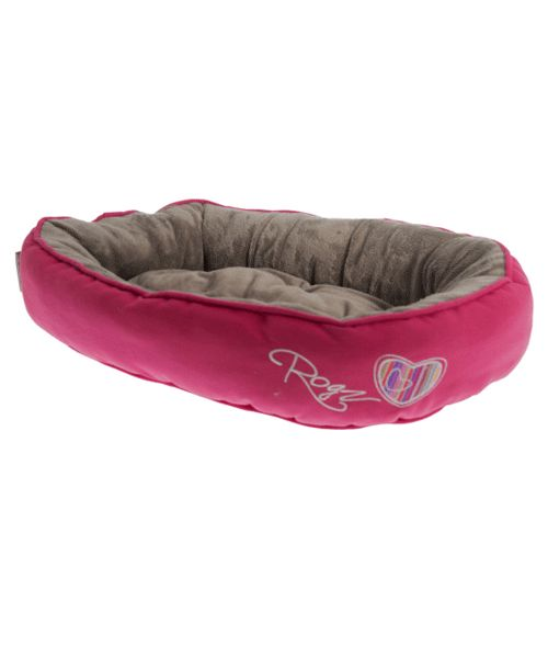 ROGZ SNUG PODZ - CANDY STRIPES (CAT BED). Available from www.nuzzle.co.za
