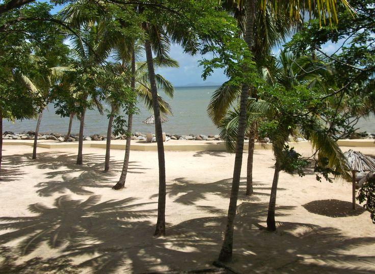 #Travel: A beach at the #Sonaisali Island Resort, #Fiji.  Photo Credit: Dawne Rudman.