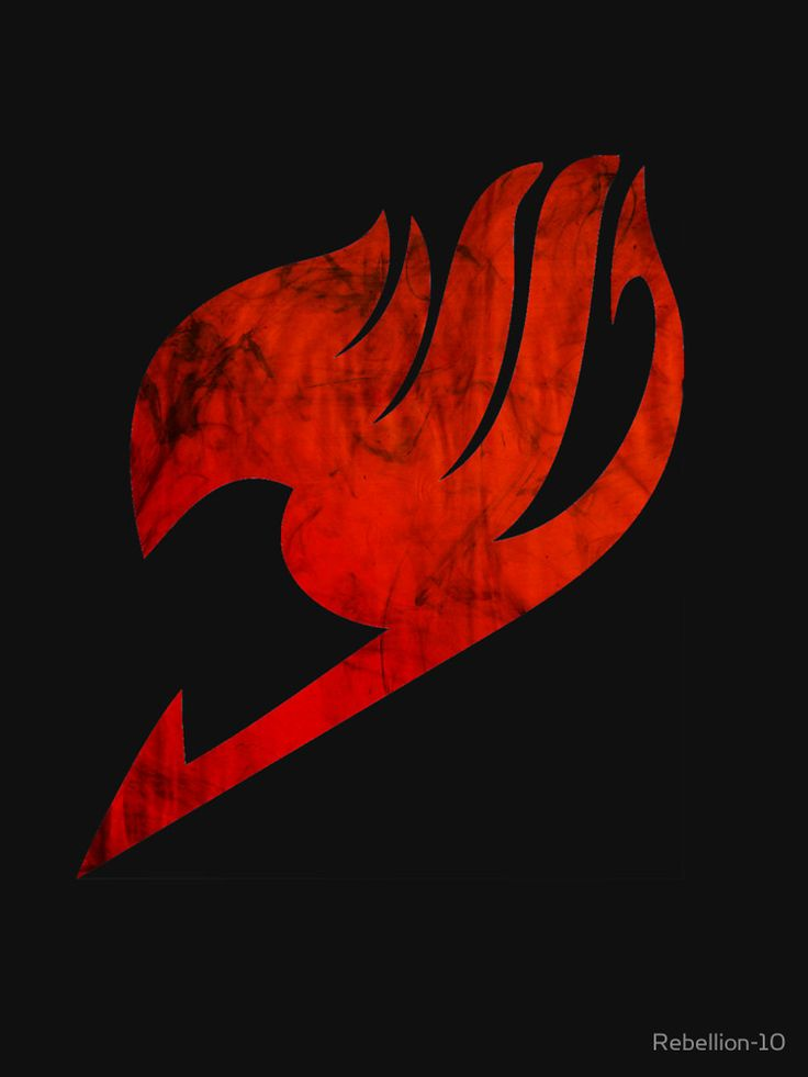 The logo of the Fairy Tail Guild of the Fairy Tail anime.