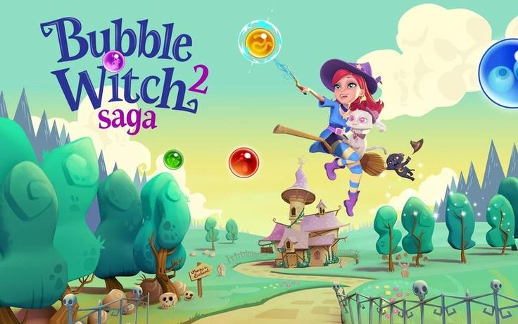 Bubble Witch 2 Saga v1.46.2 [Mods] http://androidappsapkmod.blogspot.com/2016/03/bubble-witch-2-saga-v1462-mods.html