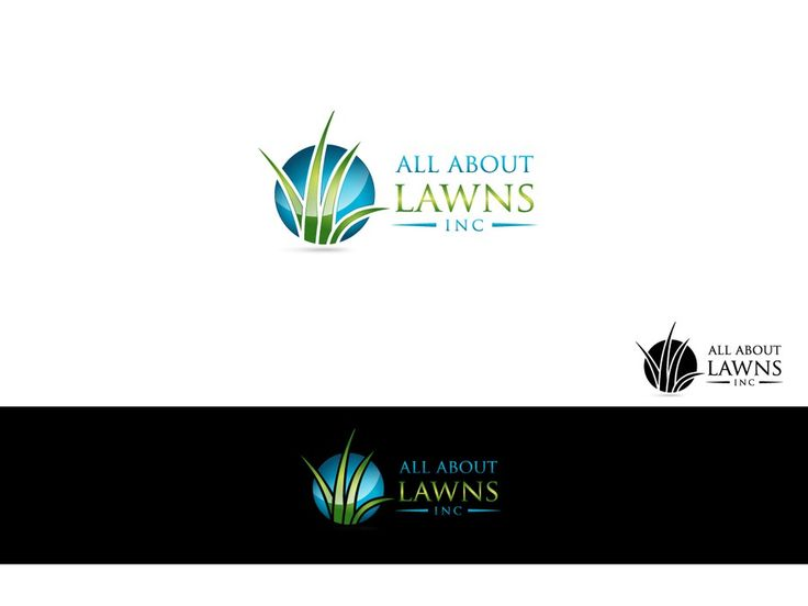Create a logo that POPS for all about lawns inc. (fertilizer company) by mURITO