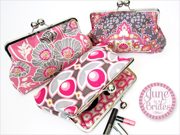 June is 4 Brides: Bridesmaid's Clutch | Sew4Home  Free- Pattern with detailed instructions and supplies list!!!