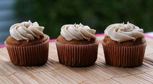 Een echte amerikaanse statt, de snickerdoodle cupcake, maar dit heerlijke gebakje …