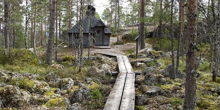 Iso Kakkori on kallioinen retkipaikka Karijoella.