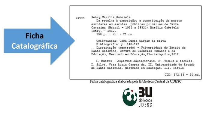 14 best recursos da biblioteca images on pinterest libraries ficha catalogrfica a catalogao na publicao gera uma ficha catalogrfica a qual impressa fandeluxe Choice Image