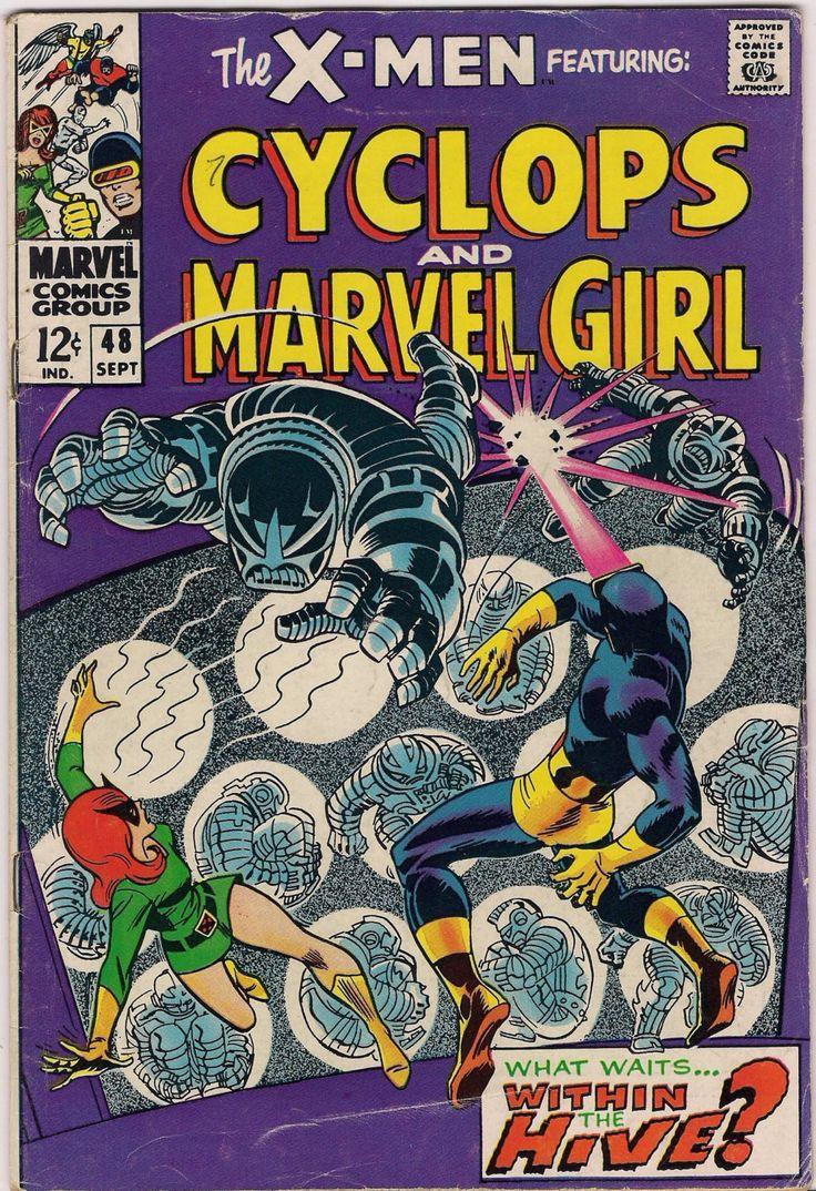 MARVEL XMEN #48 Mutants Silver Age Comics Jack King Kirby & Stan Lee 1968 Marvel Girl Cyclops VG+