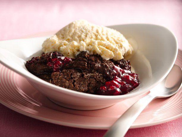 Betty Crocker Cake Mix Cherry Cobbler