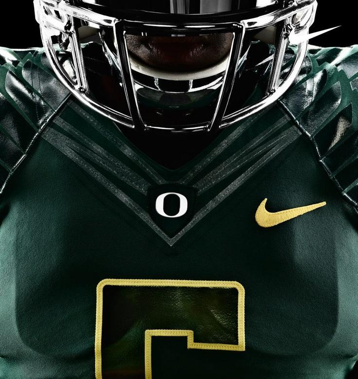 2012 Oregon Ducks Uni's