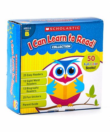 Love this I Can Learn to Read Paperback Set by Baker & Taylor Publishing on #zulily!