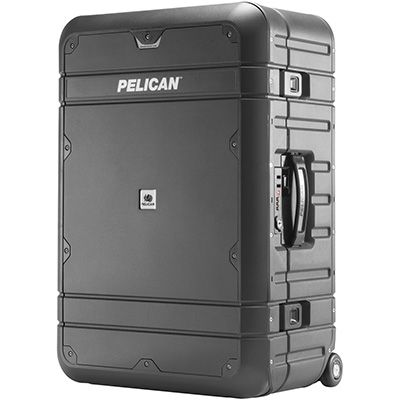 Pelican Products EL27 Weekender with Travel System Luggage is the best hard suit case. These waterproof, suitcases are made with ball-bearing wheels & retractable handle. Product of USA.