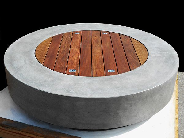 ernsdorf design concrete fire pit bowls furniture and art