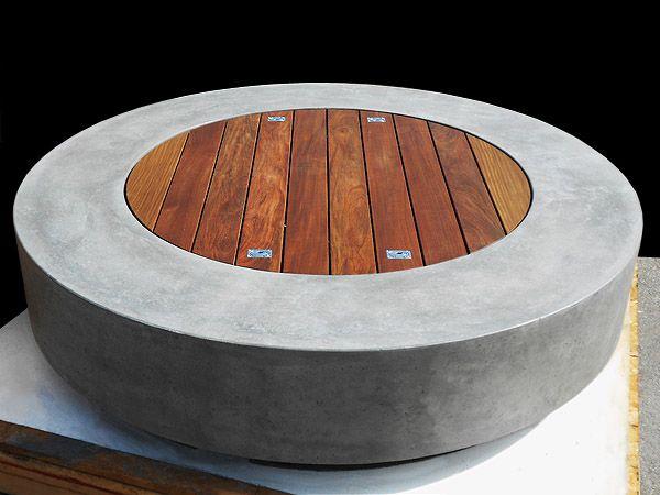 Fire Pit Tables Ernsdorf Design Concrete Fire Pit