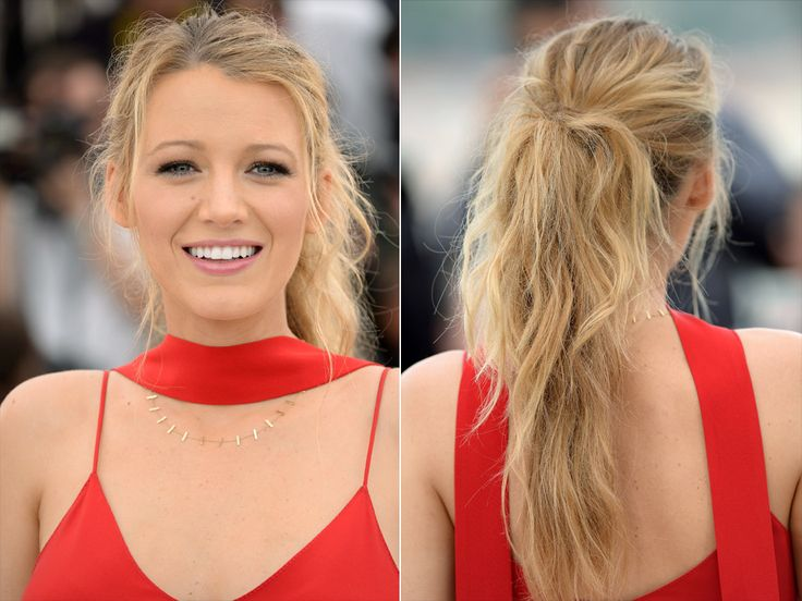 Blake Lively showing up to Cannes without a perfectly-tousled ponytail is like Blake not showing up at all: We hope such a travesty never happens.