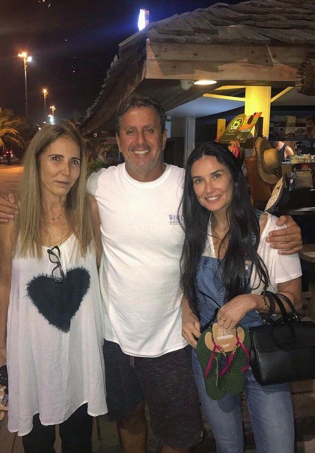 Demi Moore no Rio de Janeiro (Foto: Reprodução/Instagram)