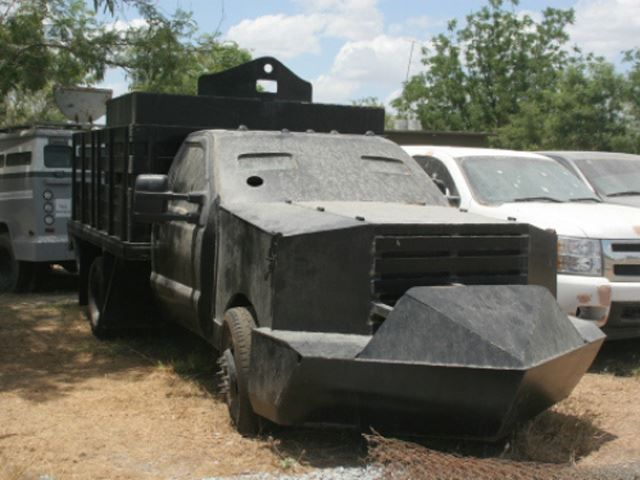 These Homemade Tanks Are How Mexican Drug Lords Get Sh*t Done