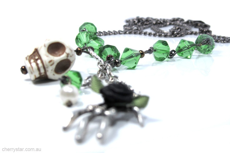 Absinthe Drops Necklace