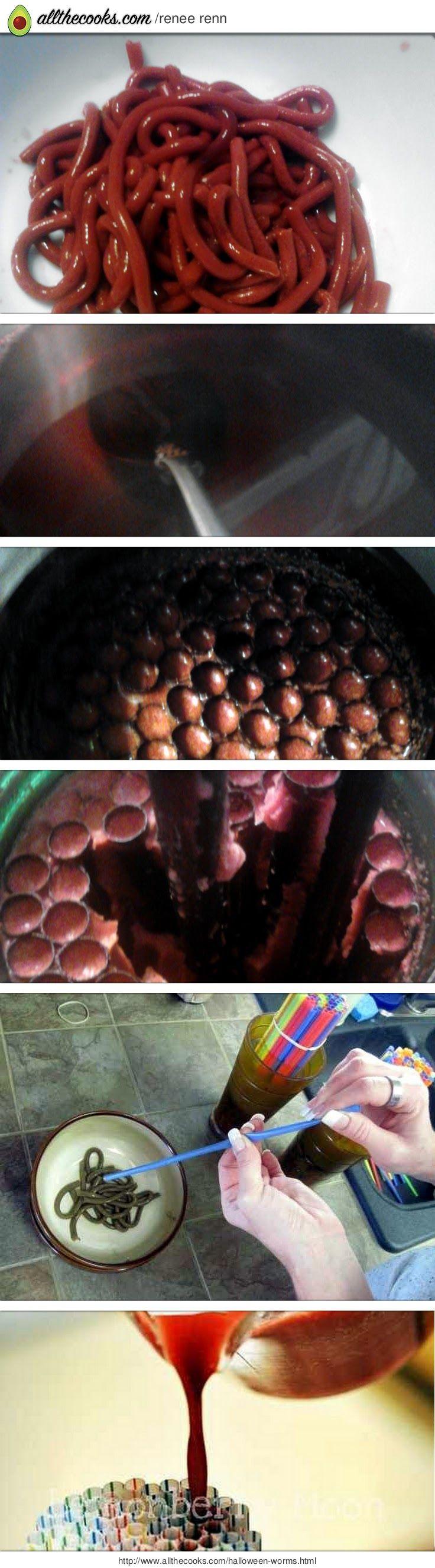Halloween Worms