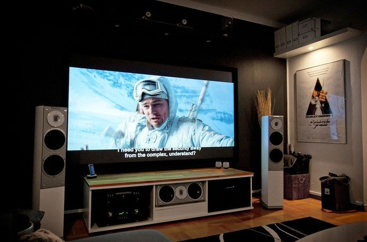 A Massive Home Entertainment Setup #home #technology