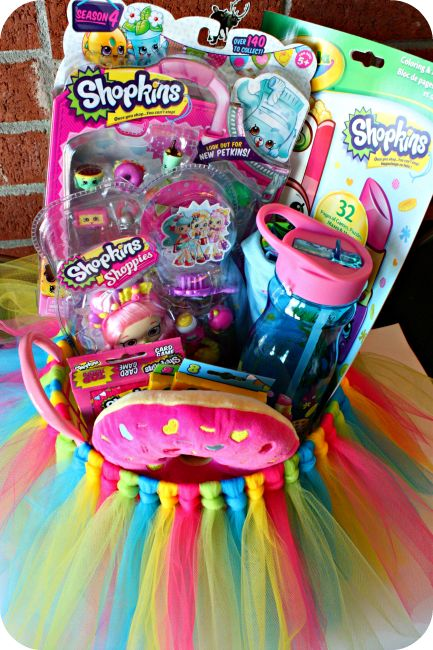 27 best creative easter basket ideas images on pinterest gift diy shopkins tutu easter basket negle Gallery
