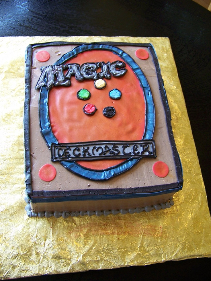 Magic The Gathering Cake Ideas