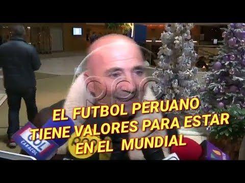 Sampaoli: Gareca le dio tranquilidad a la calidad del fútbol peruano - YouTube