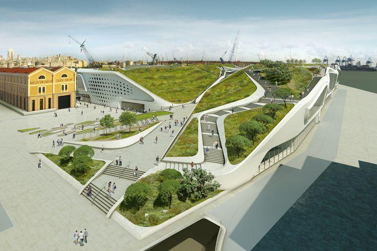 Ponte Parodi by UNStudio