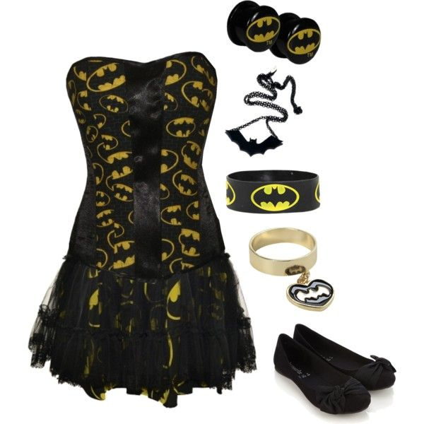 """Dananananananananananananananananana BATMAN!!!!!"" by bvb3666 on Polyvore"