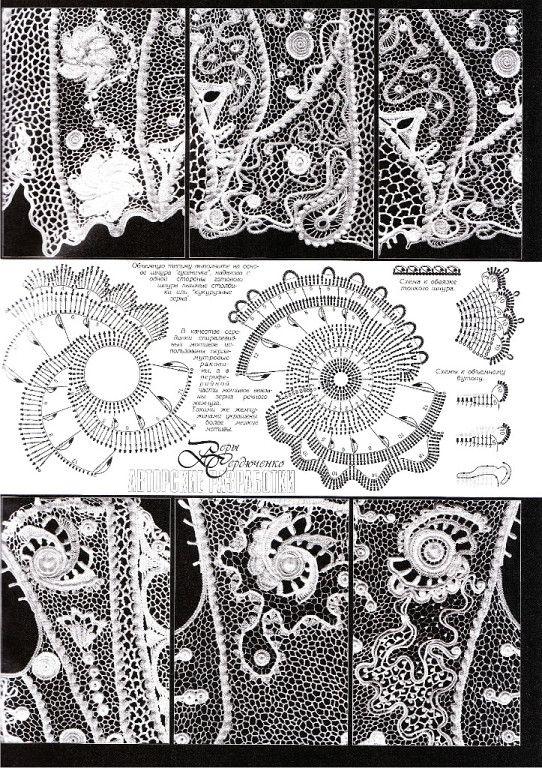 Дуплет 161.  Irish crochet. Freeform. irish crochet patterns. Motifs. Leaves…
