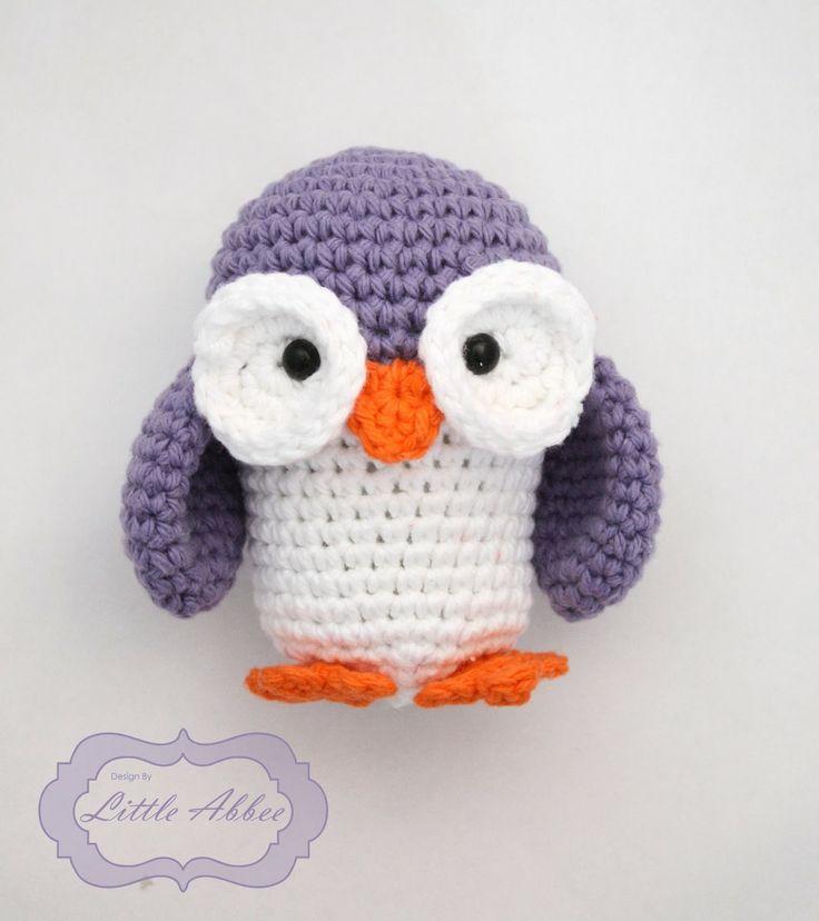 Allie the Owl Free Amigurumi Pattern http://littleabbeepatterns.blogspot.com.es/2014/02/tutorial-allie-owl.html ~ Free crochet patterns~
