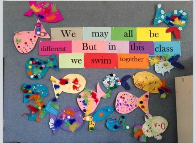 Cute beginning of the year idea - Inclusion