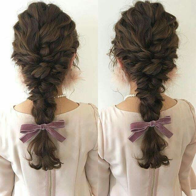 Wish my hair could do this! Never in a million years would it, though.
