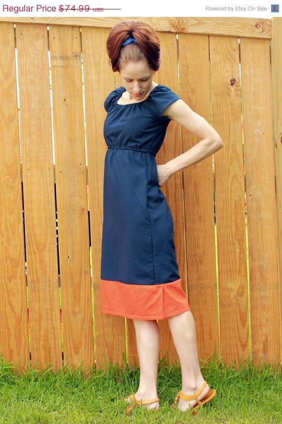#mod #blue #retro #dress