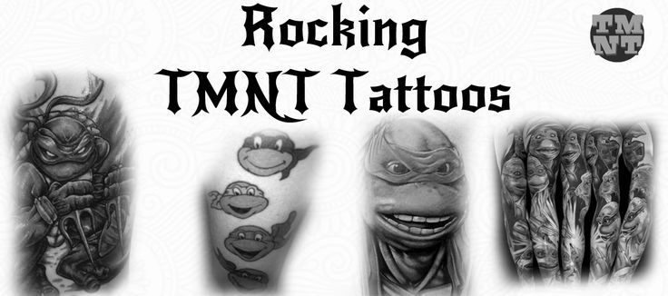 15 MAGNIFICENT NINJA TURTLES TATTOOS  #TMNT #NinjaTurtles #Tattoos #Ink