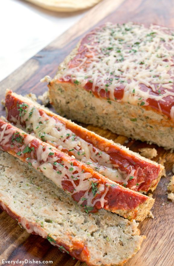 Homemade chicken meatloaf recipe