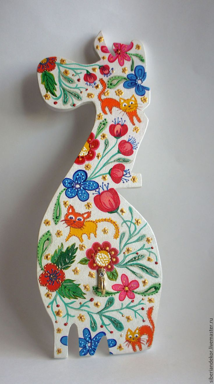 Купить Интерьерное украшение - зебра - комбинированный, интерьерное украшение, роспись, авторская работа