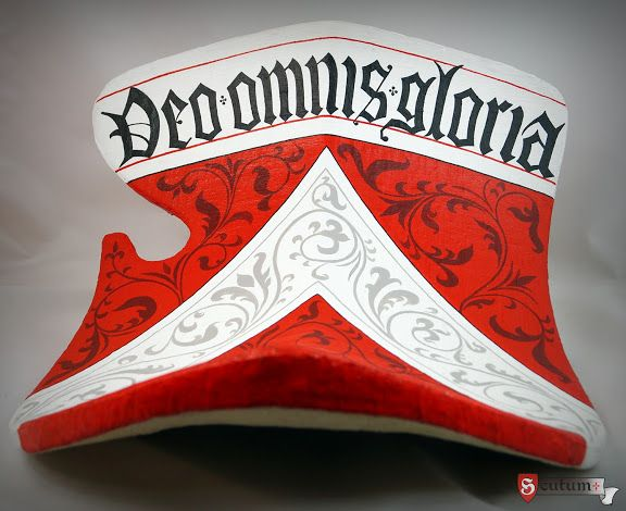 Jousting shield / ecranche / tarcza kopinicza - SCUTUM Rekonstrukcje historyczne