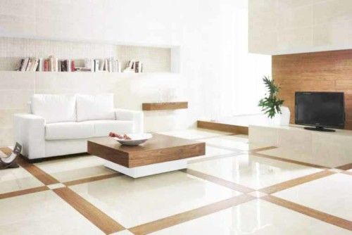 Motif Keramik Lantai Ruang Tamu Minimalis Modern Ruang