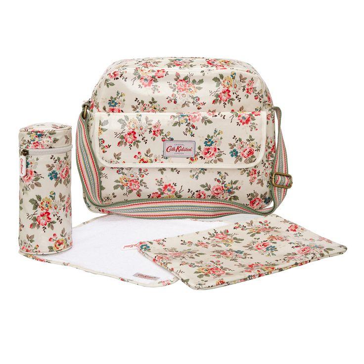New baby bits | Kingswood Rose Zip Changing Bag | #CathKidston
