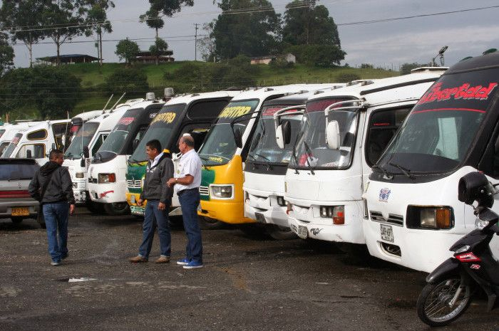 Las imágenes del cuarto día de paro de transporte | El Nuevo Liberal