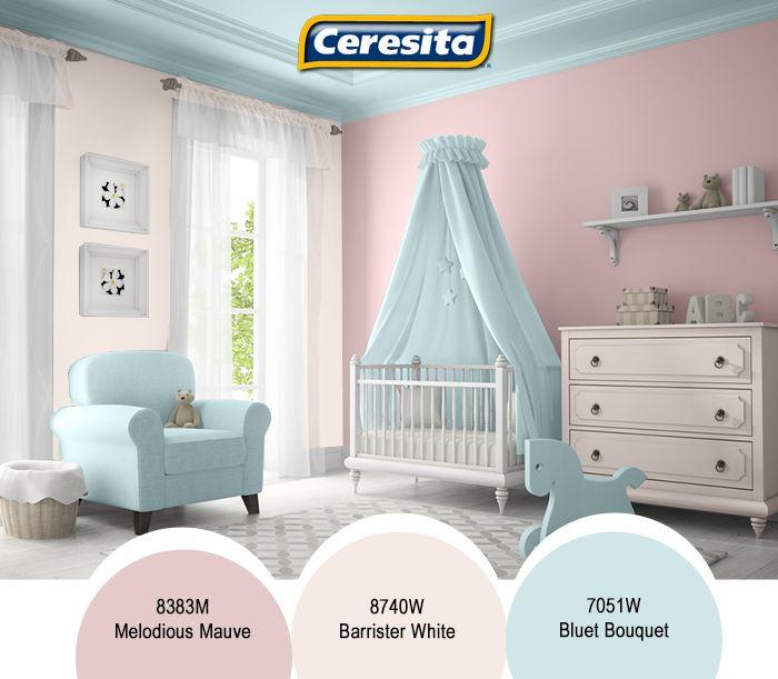 17 mejores ideas sobre habitaciones azules para ni as en - Habitacion infantil rosa ...