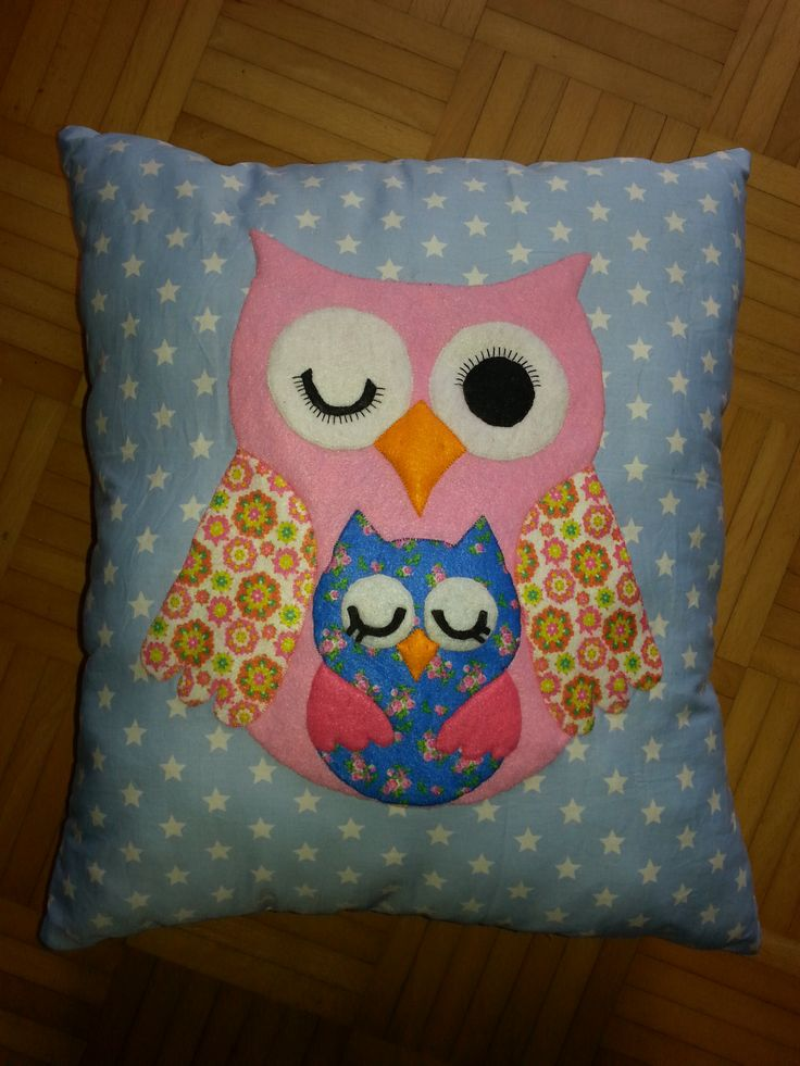 owl pillow / uil kussen