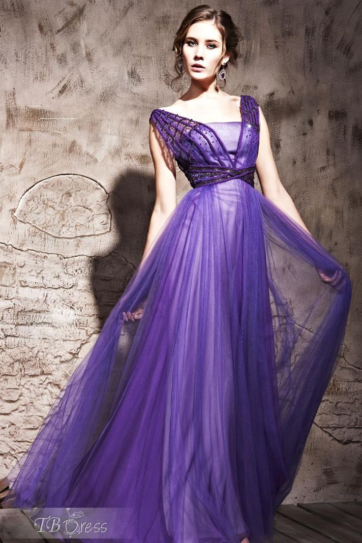 19 best Vestidos morados. images on Pinterest | Purple dress, Sweet ...