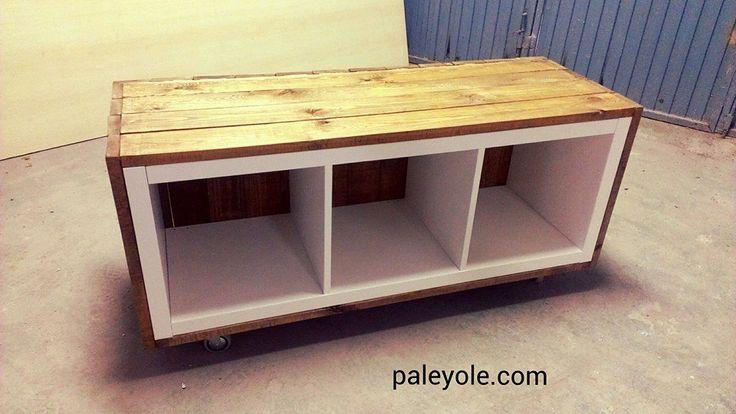 Mueble de IKEA tuneado. HACK IKEA. Palé Palet  Un poco de todo  Pinterest ...
