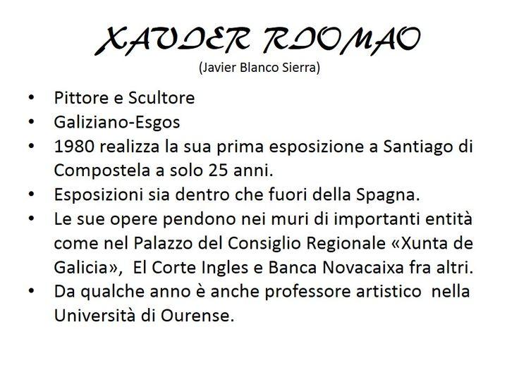 Xavier Riomao : Presentacion