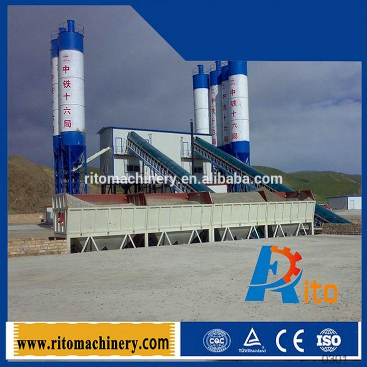60 cubic precast fixed sany ready mix concrete batching plant high quality good price #12_Days, #fix